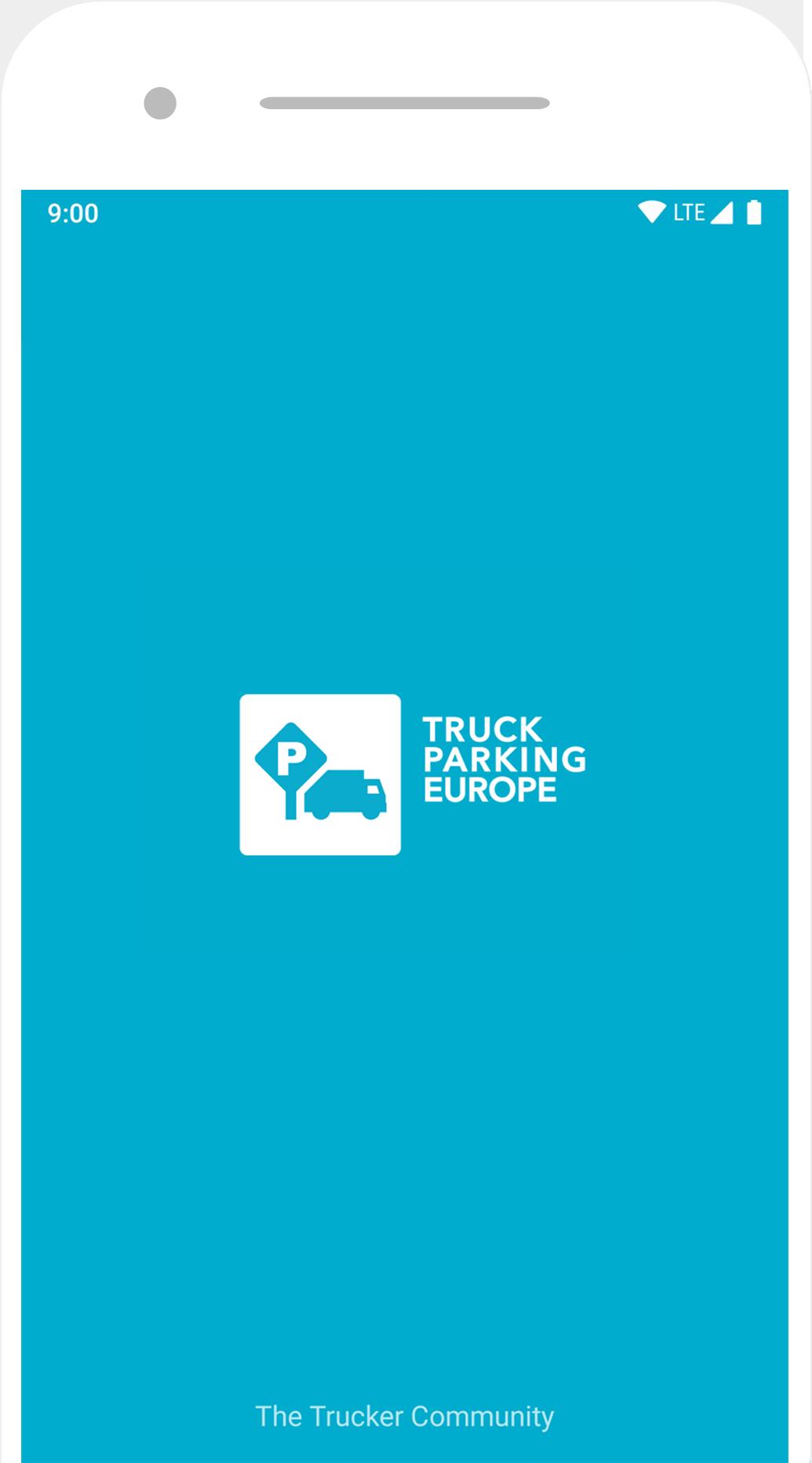Afbeelding Truck Parking Europe app voor vrachtwagenchauffeur en parkeerplaatsen