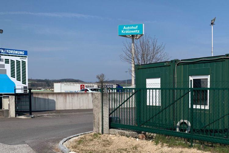 Autohof Kralowetz TruckParking Europe