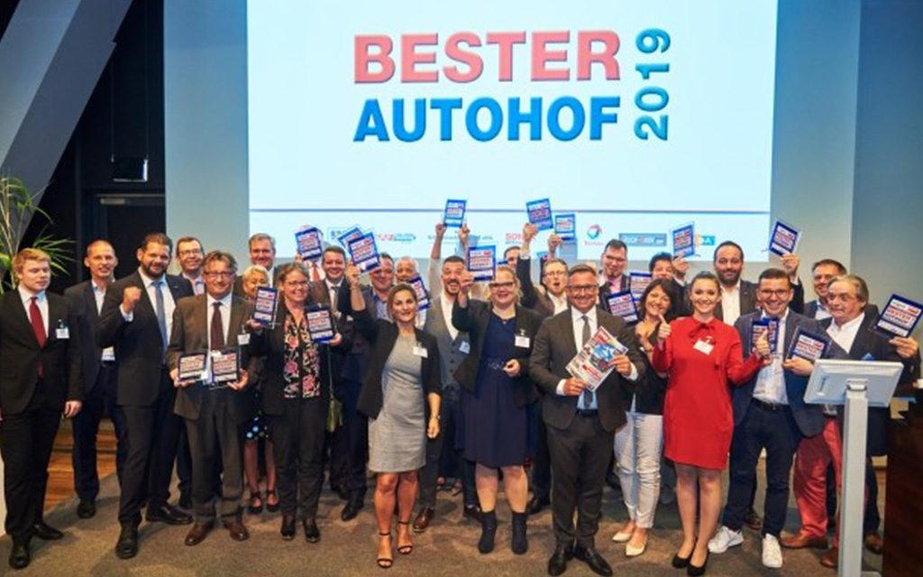 Autohof Award 2019 - unterweg auf der autobahn