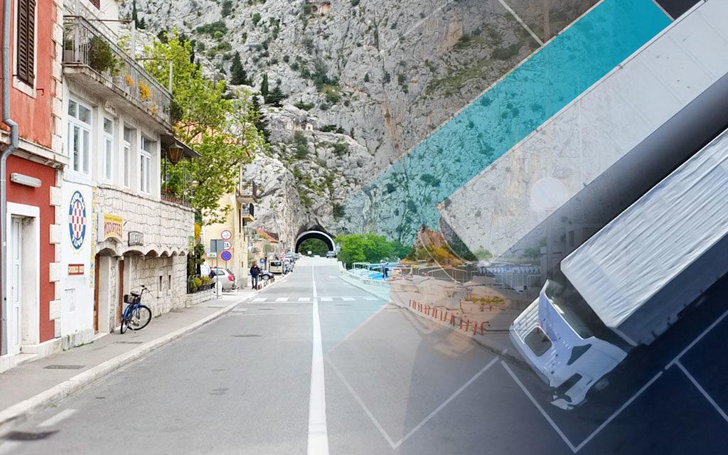 Robni Terminali truck parking Zagreb