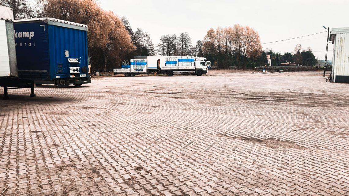 Truck parking szczecin