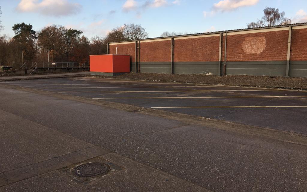 truck parking near Münster