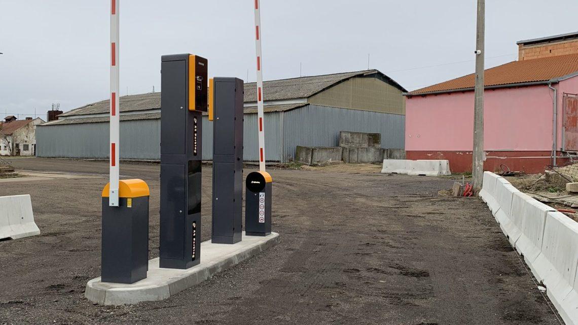 truck parking Czech