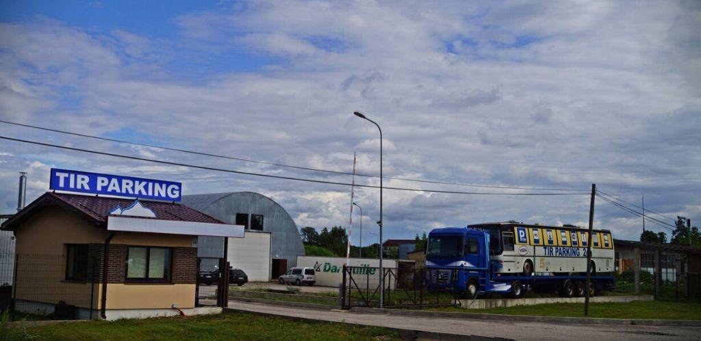 Truck Parking Vissa Ādaži
