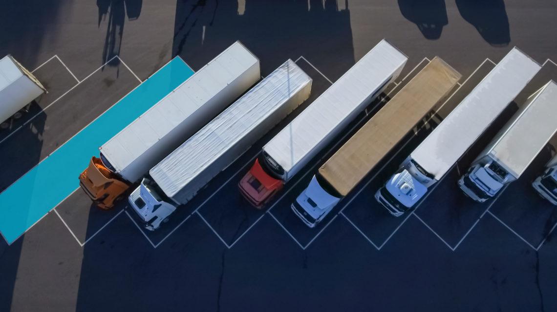 truck parking Sweden