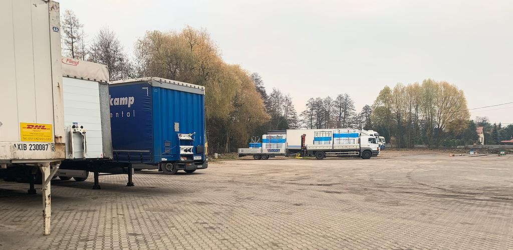 Serwis truck parking